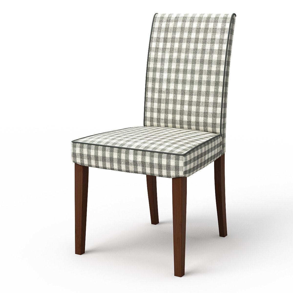 HENRIKSDAL Dining chair Rutna Multicolour 3D Model .max ...