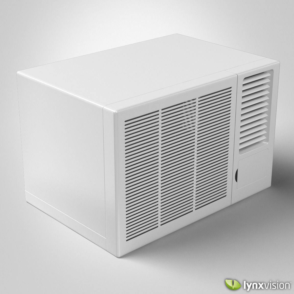window air conditioner 3d model   cgtrader