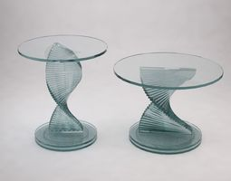 Round table - Stairs 3D