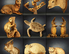 3D asset 9 Animals Collection
