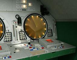9S467 Soviet radar post 3D Model