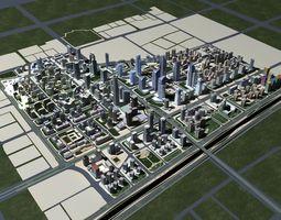 3D Beijing city