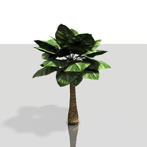 Alien Tree Game model3D model