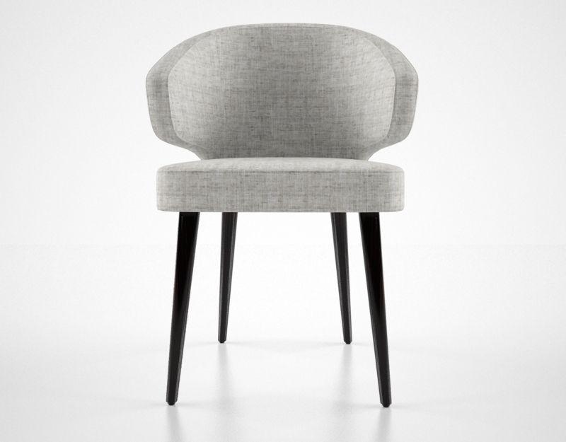 Minnotti Aston Dining Chair 3d Model Max Obj Fbx