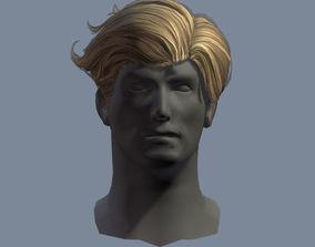 hair man 3 3D asset