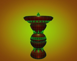 fountain building 3D model