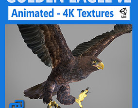 3D asset Golden Eagle - Unity
