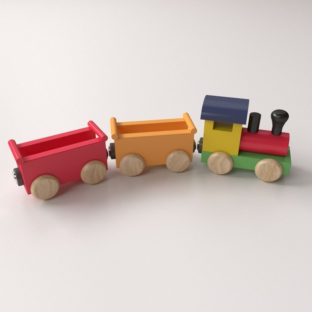 Wooden Toy Trains 89