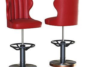 3D asset Bar stool Captains