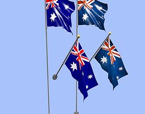 Australia Flag 3D