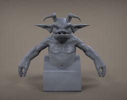 Dante 3D Model