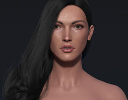 animated Zbrush maya 3d basemesh basemodel of girl body 1