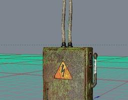 fusebox 3D model