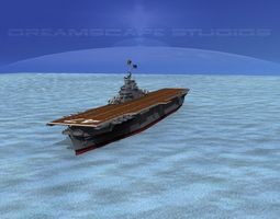 Ticonderoga Carrier CV-47 Philippine Sea 3D Model