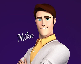 3D Mike Stylized Male Teen Character
