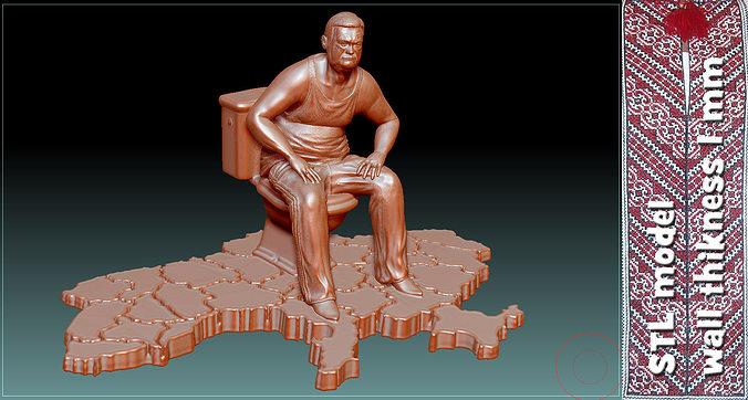 monument to corruption stl 3d model stl 1