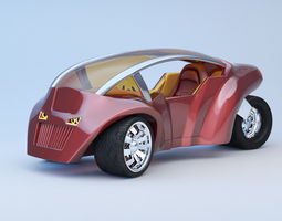 Concept Vehicles 3D Model