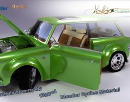 Custom Car 3D Model