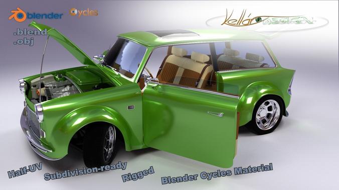 Custom Car3D model