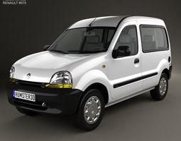 3D model Renault Kangoo 1997