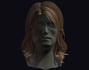 hair style 9 3D asset