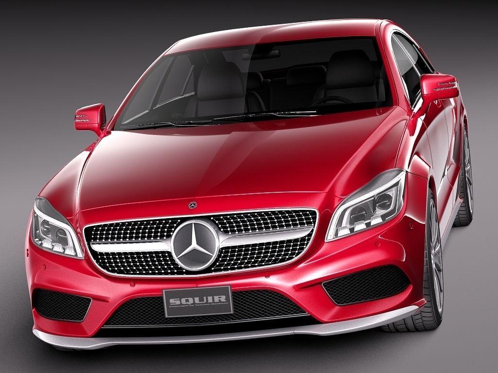 Mercedes benz cls 2015 3d model max obj 3ds fbx c4d for Mercedes benz 2015 models