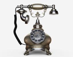 Phone Retro Vintage style 3D