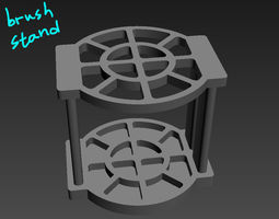Brush Stand 3D printable model