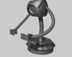 robot smartphone holder 3d print model