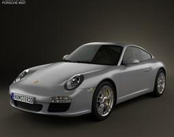 Porsche 911 Carrera Coupe 2011 3D model