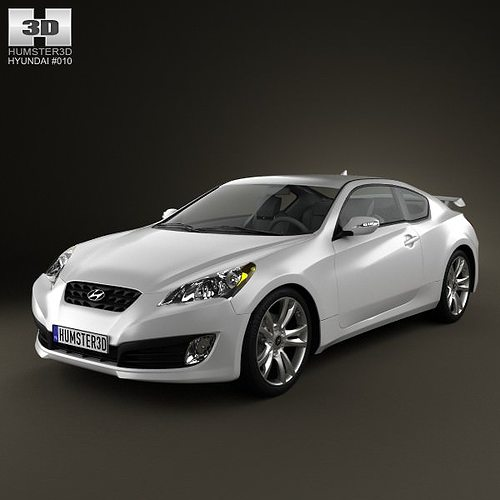 Hyundai Genesis Coupe 2011 3D Model