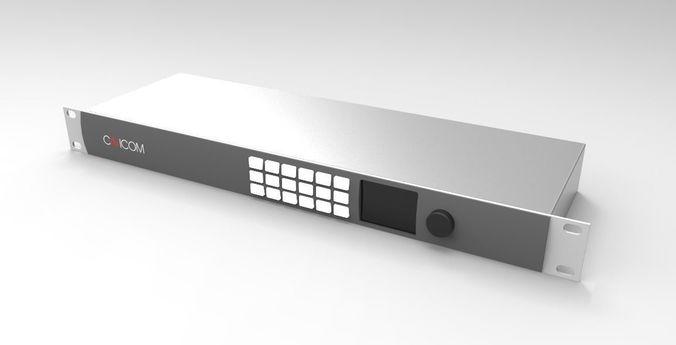 switcher router 3d model blend sldprt sldasm slddrw 1