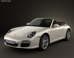 Porsche 911 Carrera Cabriolet 2011 3D model