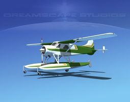 3D model Dehavilland DHC-2 Beaver V05