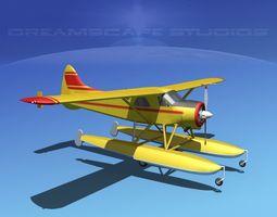 Dehavilland DHC-2 Beaver V06 3D