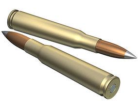 cartridge Ammunition 50cal Barrett 3D
