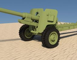 Bs3 Russian antitank 2015 3D Model