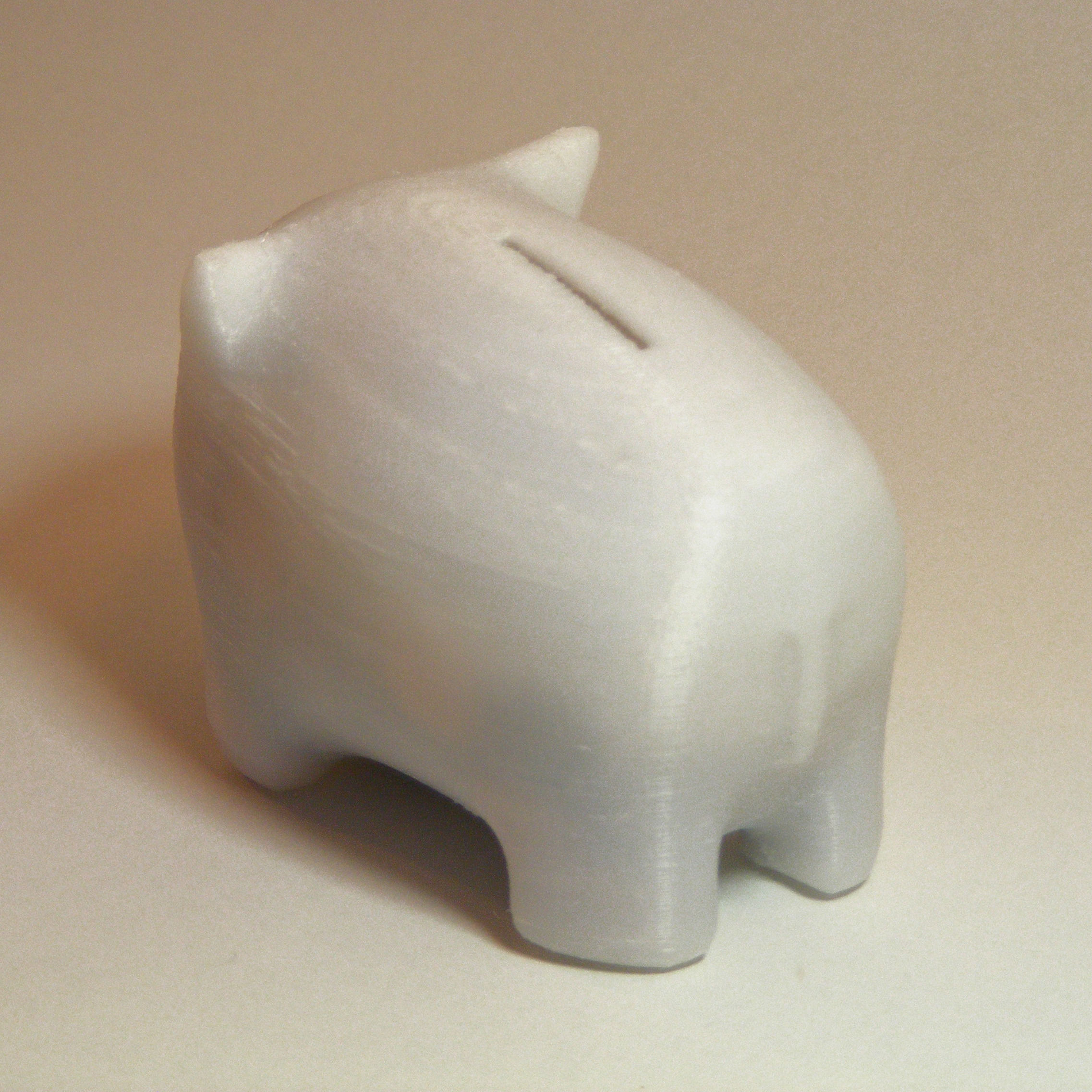 Piggy bank 3d model 3d printable stl Large piggy banks for adults