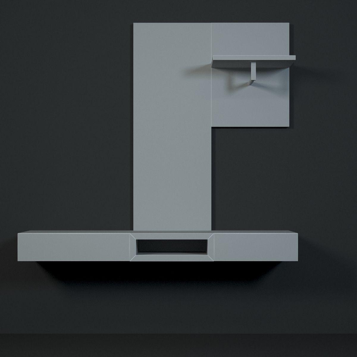 Hulsta neo hallway 3d model max - Tv mobel hulsta ...