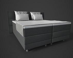 Bed Sofa 3D asset