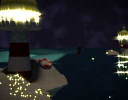 3D animated Lighthouse