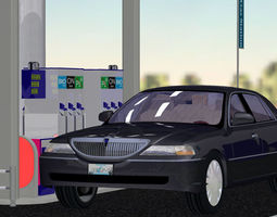 VP Gas Station 3D model