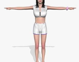 Sexy Girl Krishta 3D Model