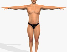 Muscular_Mohit 3D Model