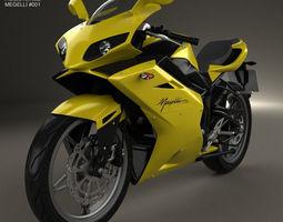 Megelli Sport 250 R 2013 3D Model