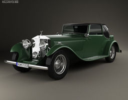 Rolls-Royce Phantom II Continental 1933 3D