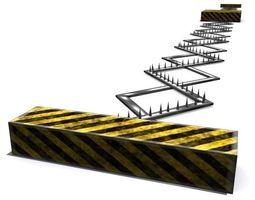 spike strip realtime 3d model