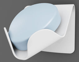 Wall Soap Dish 02 3D Model
