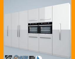 ovens 3D Kitchen Set