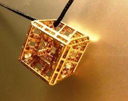 Fractal Hypercube 3D Model